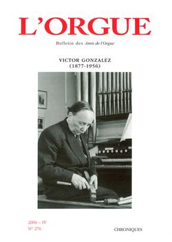 (couverture de Victor Gonzalez (1877-1956))