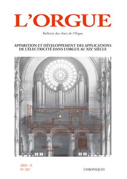 (couverture de Apparition et développement des applications de l'électricité dans l'orgue au XIXe siècle)