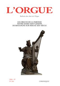 (couverture de Les orgues de la paroisse Notre-Dame-Saint-Joseph de Boulogne-sur-Mer au XIXe siècle)