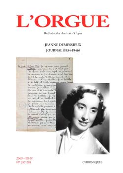 (couverture de Jeanne Demessieux, Journal (1934-1946))