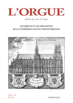 (couverture de Les Orgues et les Organistes de la cathédrale Sainte-Croix d'Orléans)