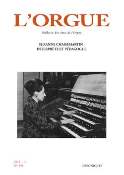 (couverture de Suzanne Chaisemartin: interprète et pédagogue)