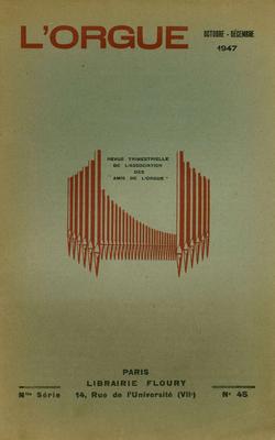 (couverture de Épisodes de la vie d'un musicien d'Alsace – L'orgue dans l'Antiquité – Les anciennes orgues et les organiers des XVIe, XVIIe et XVIIIe siècles dans le Finistère)