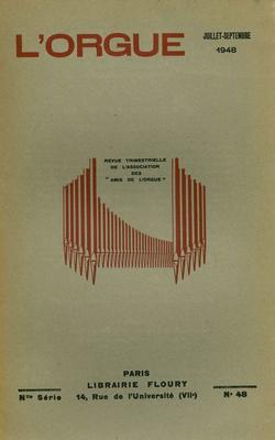 (couverture de En souvenir de M.-J. Erb – De l'orgue néo-classique – L'influence des Flamands sur les Français en matière de construction d'orgues – Une belle figure de prêtre mélomane&nbsp: Mgr Giraud)