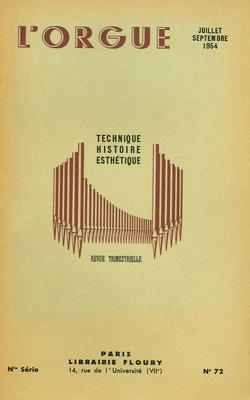 (couverture de Organistes français d'aujourd'hui: Jean-Jacques Grunenwald – Éléments de registration à l'orgue – Le grand orgue de Saint-Nicolas-du-Chardonnet – Le grand orgue de Notre-Dame  à l'époque classique)