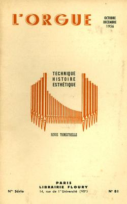 (couverture de Hommage à Victor Gonzales – Le grand orgue de la cathédrale de Soissons)