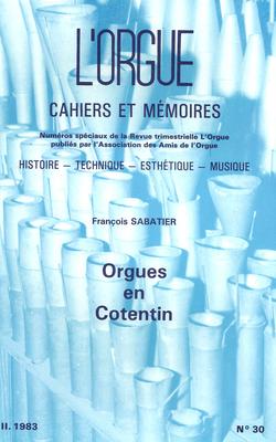 (couverture de Orgues en Cotentin – Situation actuelle)