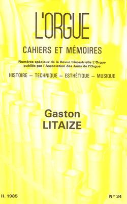 (couverture de Gaston Litaize)
