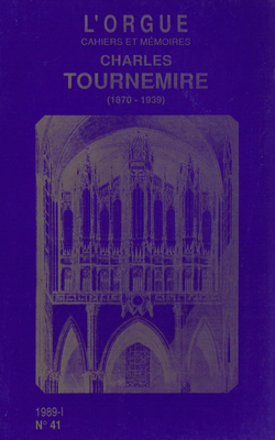 (couverture de Charles Tournemire (1870-1939))