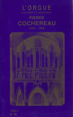 (couverture de Pierre Cochereau (1924-1984))