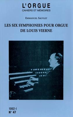 (couverture de Les six symphonies pour orgue de Louis Vierne)