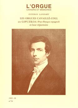 (couverture de Les orgues Cavaillé-Coll en Gipuzkoa (Pays-Basque espagnol) et leur répertoire)