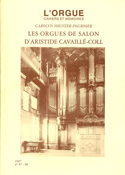 (couverture de Les orgues de salon d'Aristide Cavaillé-Coll)