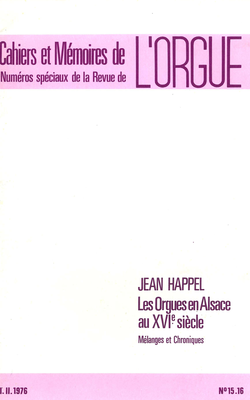 (couverture de Les orgues en Alsace au xvie siècle)